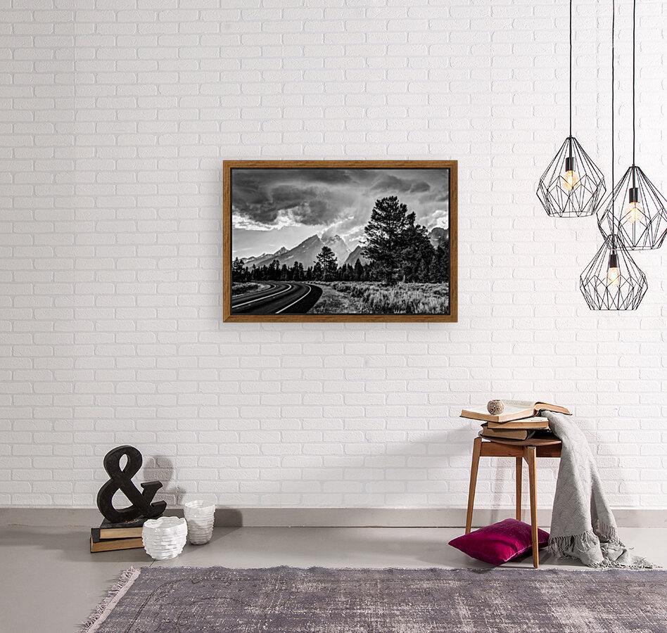 Grand Teton National Park Storm - Jackson Hole - Wyoming  Art