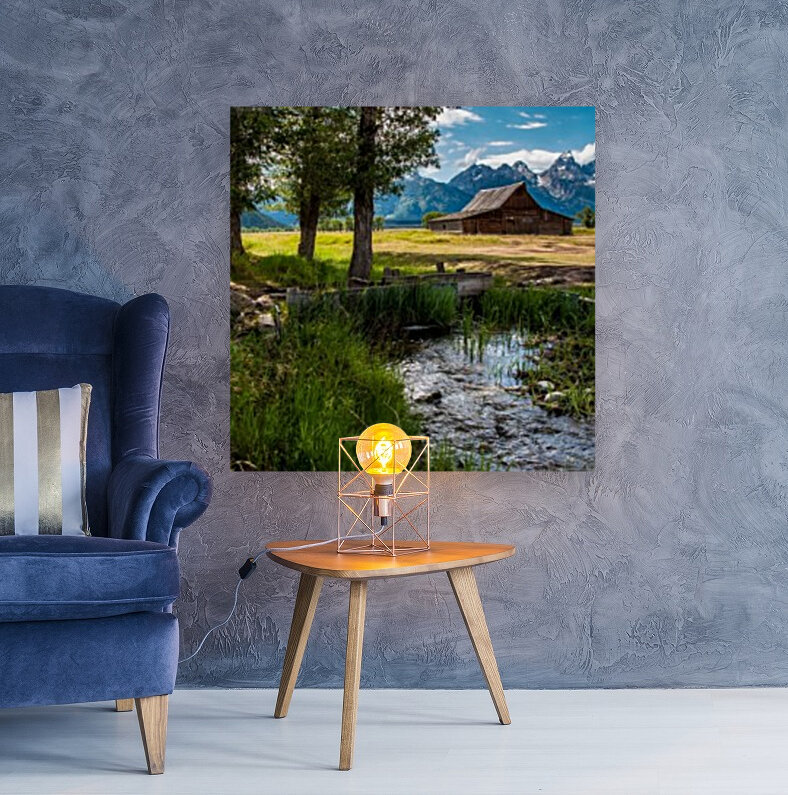 T.a. Moulton Barn - Grand Teton  Art