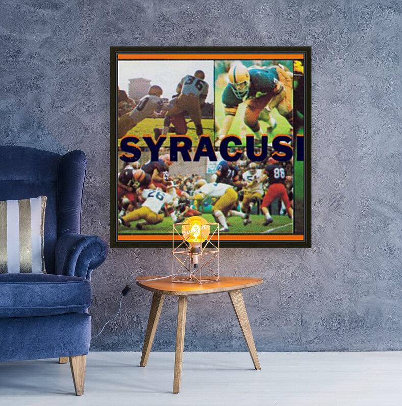 Vintage Syracuse Ticket Art  Art