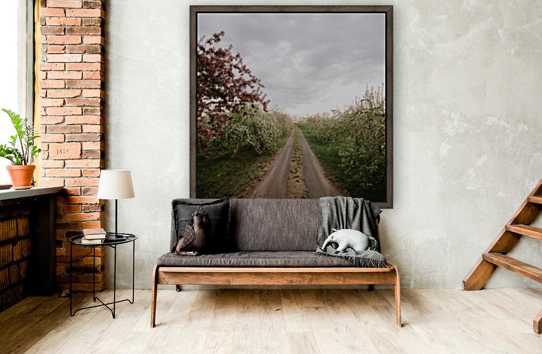 Chemin fleuri  Art