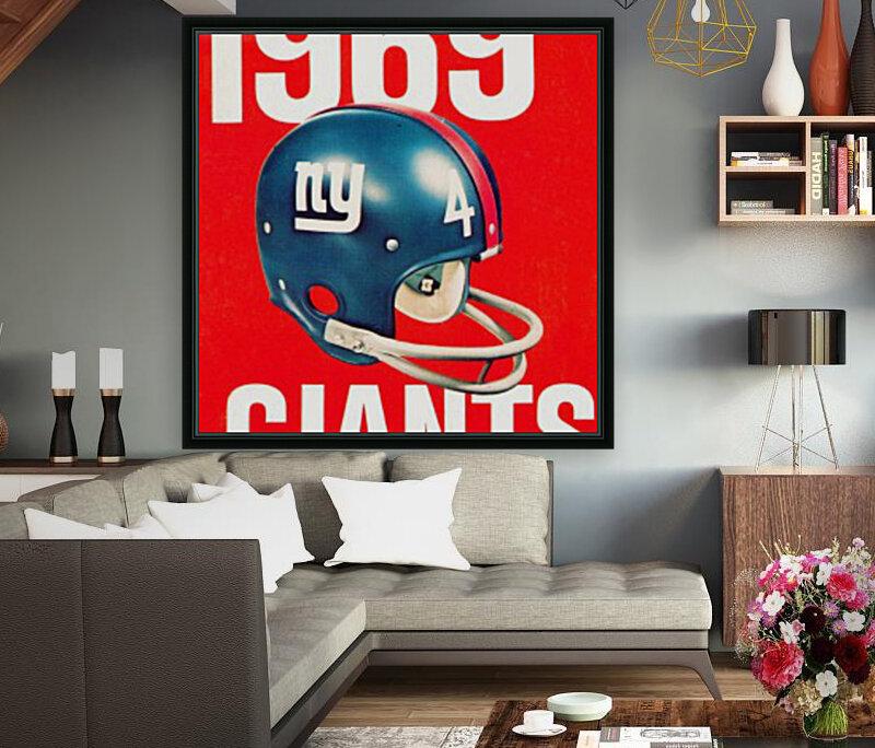 1969 new york giants football poster  Art