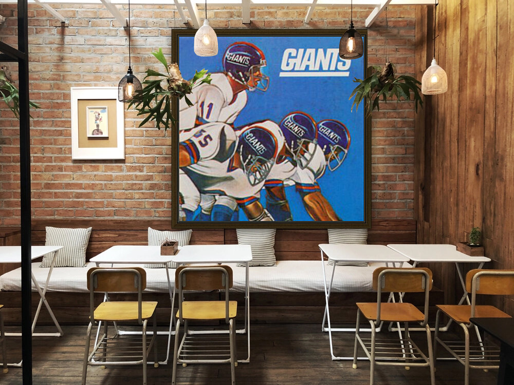 new york giants gift ideas with Floating Frame