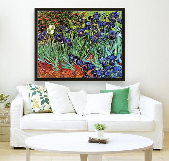 Irises by Van Gogh  Art