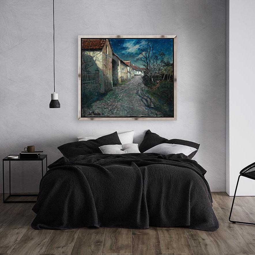Moonlight in Beaulieu  Art