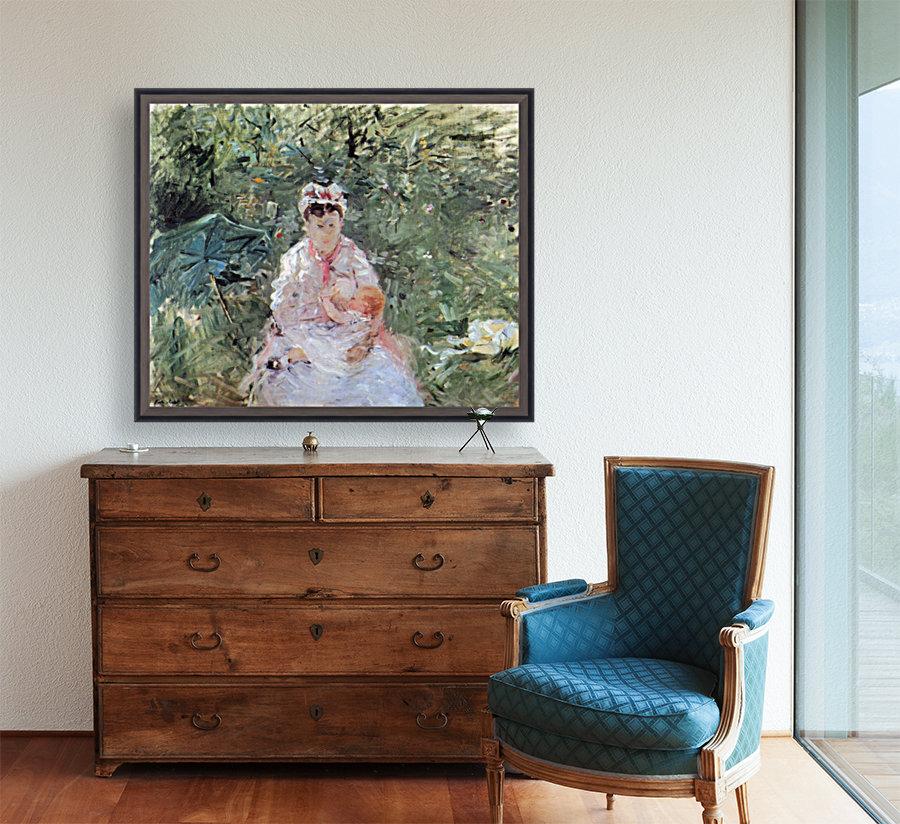 Julie Manet by Morisot  Art