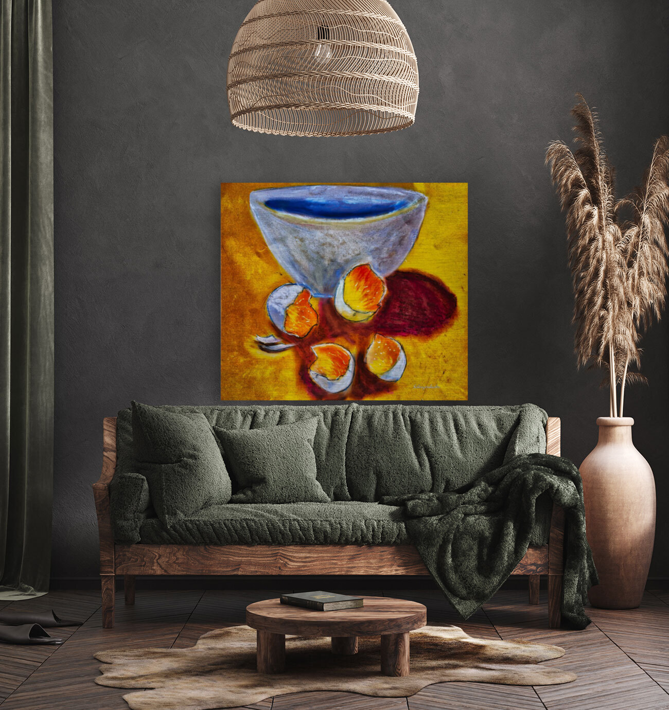 Eggs and a bowl  Art