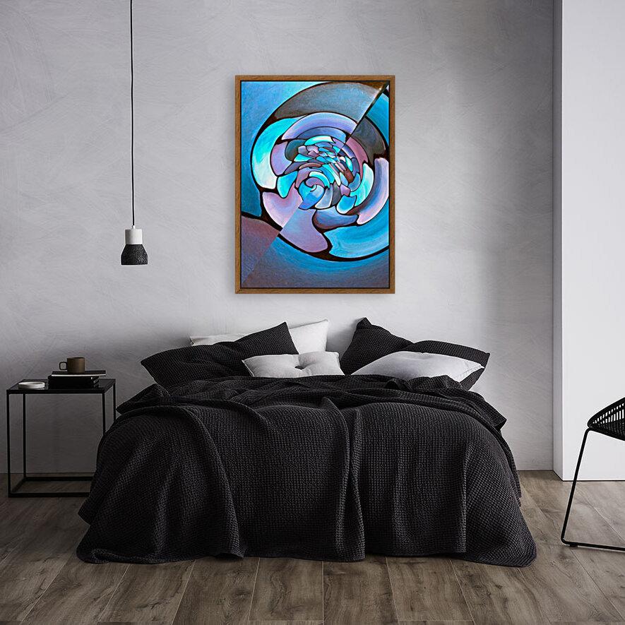 Art Deco_Green _Pattern_Aqua  Art