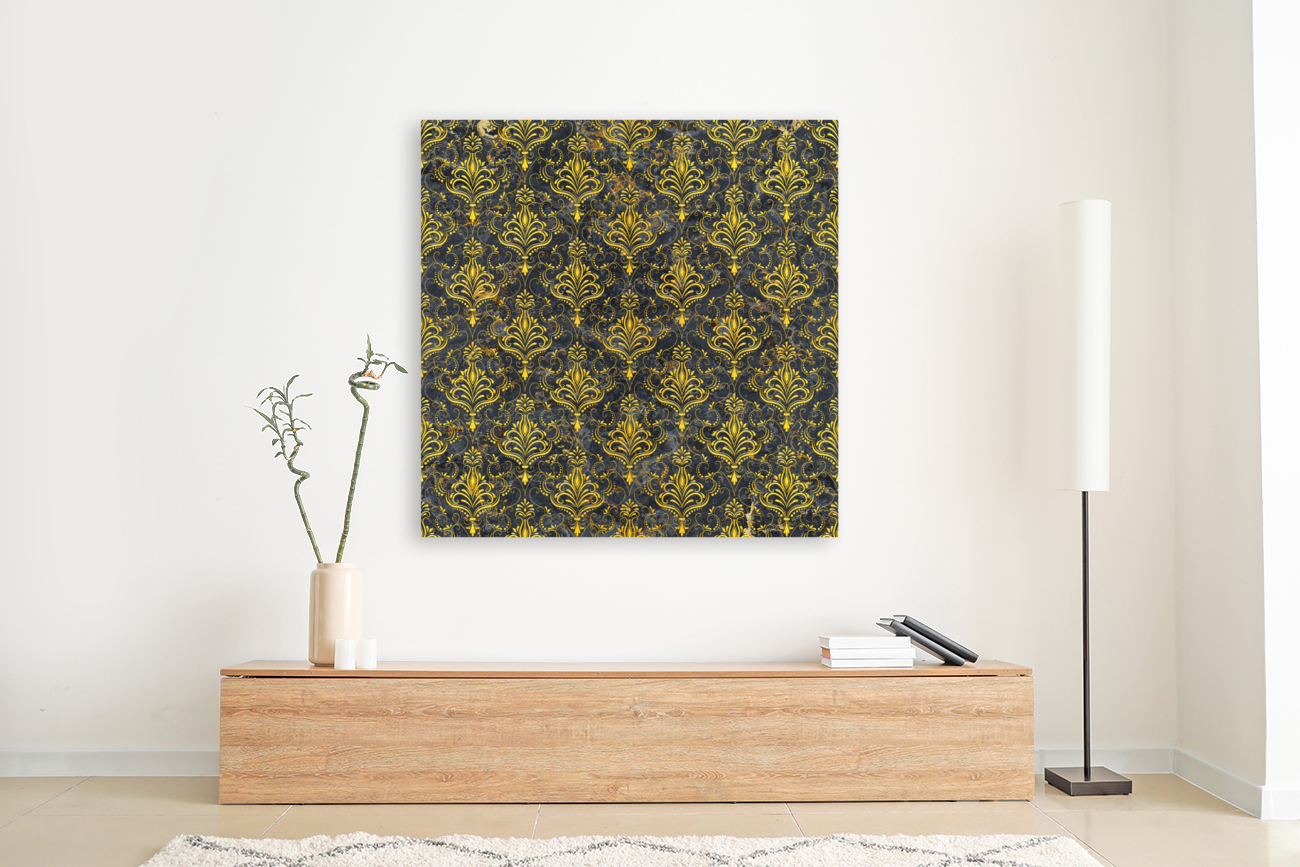 Golden pattern with marble  Art
