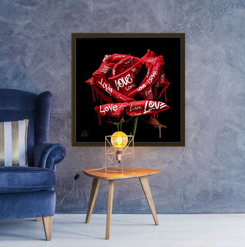 Graffiti Rose  Art