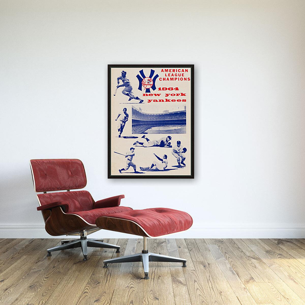 1964 new york yankees american league champions poster  Art