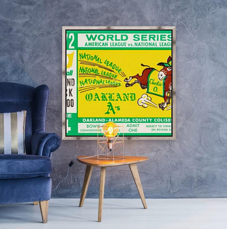 1972 world series oakland athletics  Art