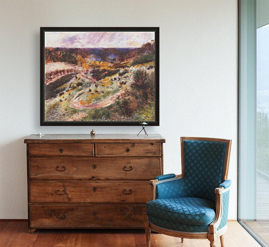 Landscape in Wargemont by Renoir  Art