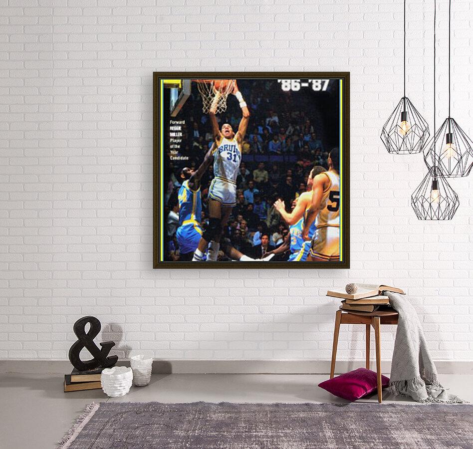 1986 ucla basketball reggie miller poster  Art