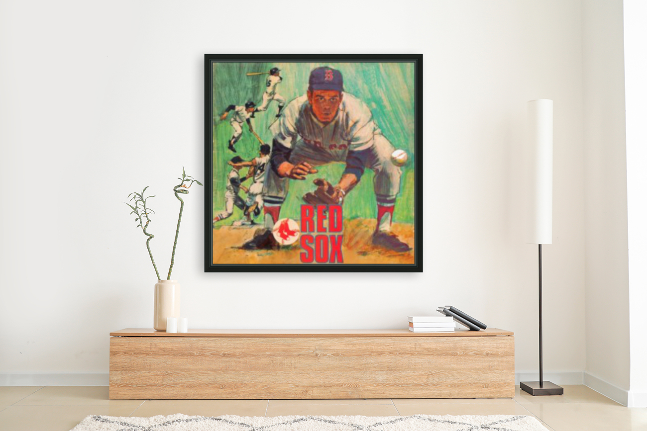 vintage boston red sox best metal sports signs for the garage  Art
