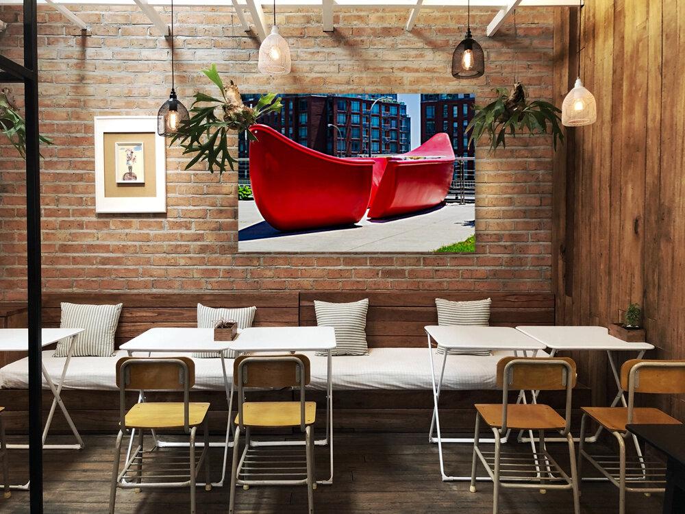 Red Canoe  Art