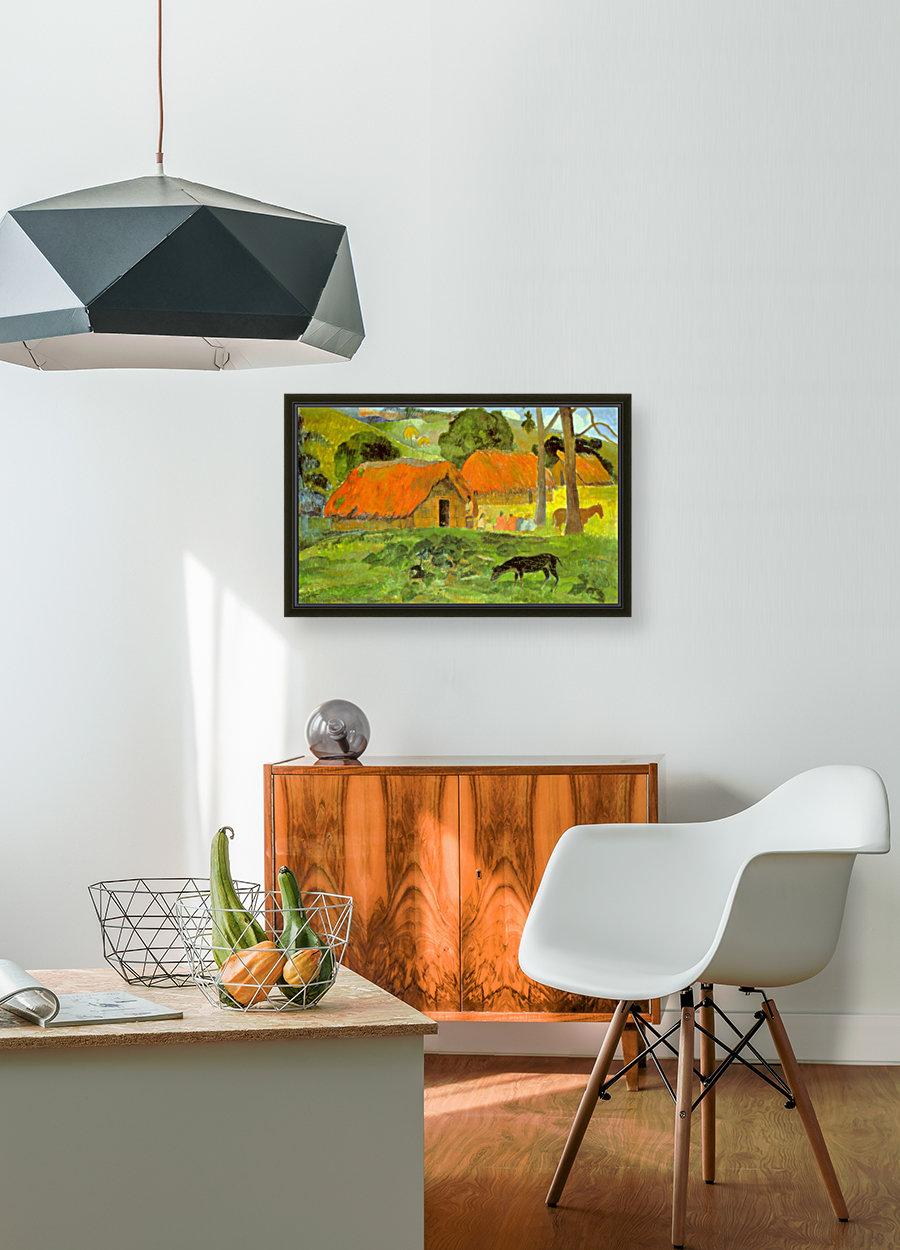 Le Trois Huttes by Gauguin  Art