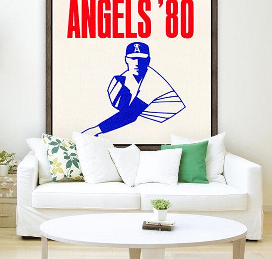 1980 california angels baseball pitcher art  Art