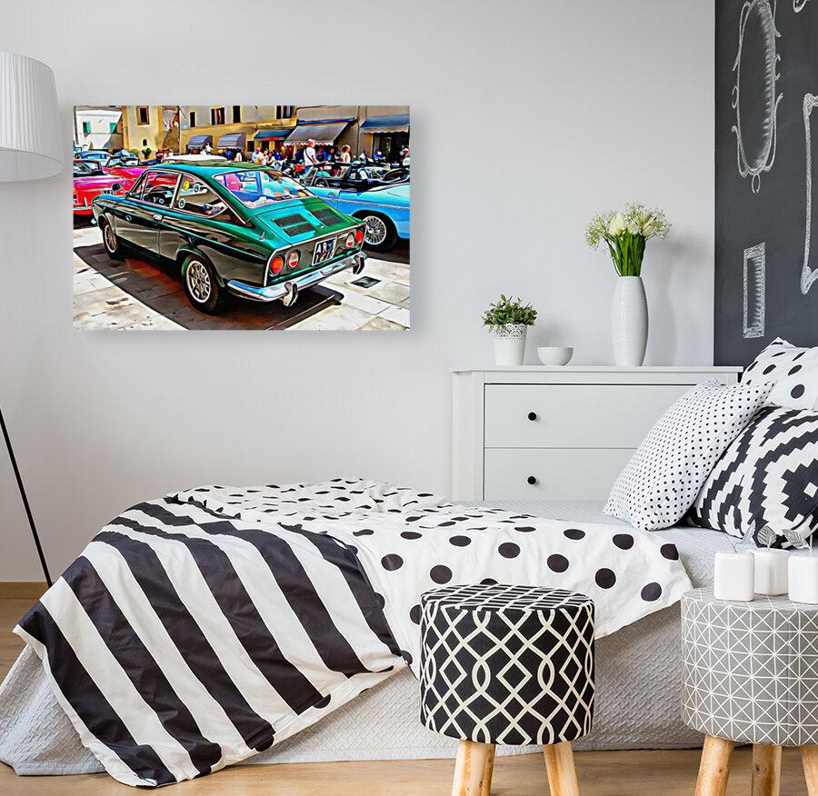 Fiat 850 Sport Coupe  Art