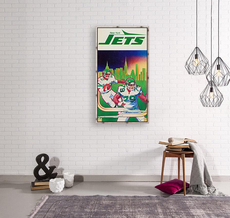 1981 new york jets football art  Art
