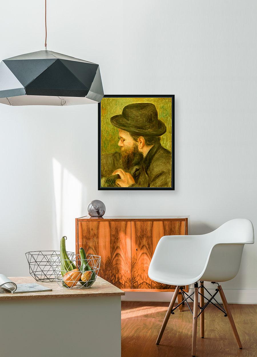 M Bernard man with the black hat  Art