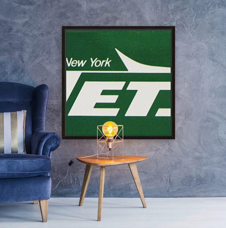 1981 new york jets reproduction artwork  Art