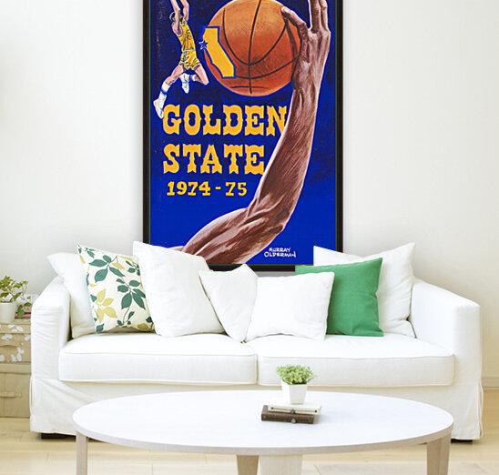 1974 golden state warriors basketball art murray olderman artist  Art