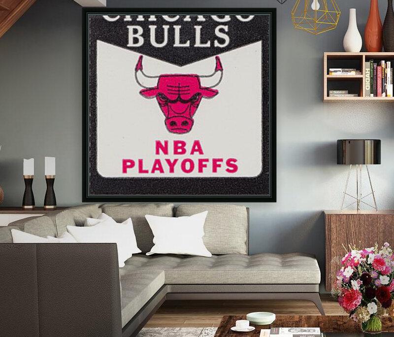 1982 chicago bulls nba playoffs phantom ticket  Art