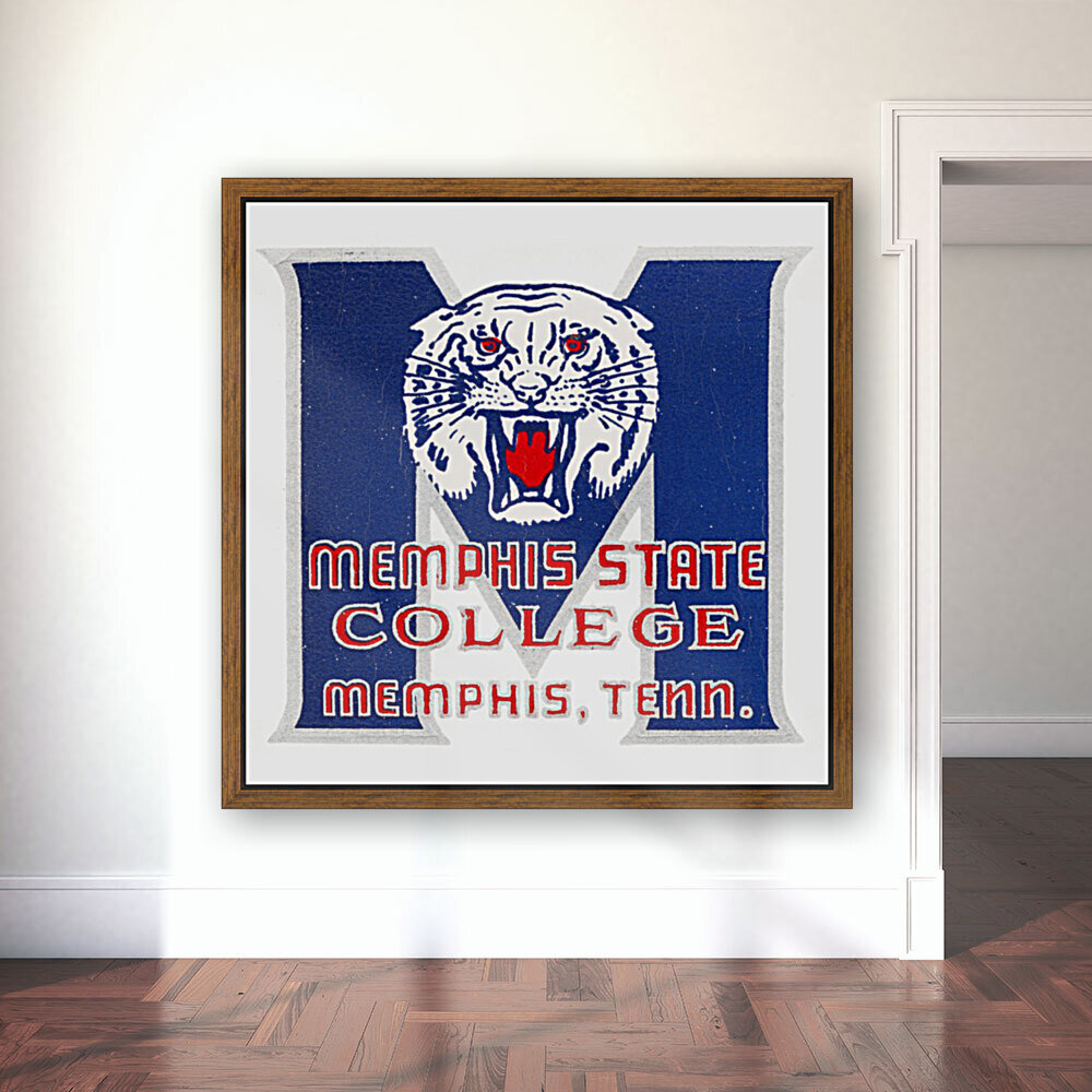 1950s Memphis State College Tigers  Art