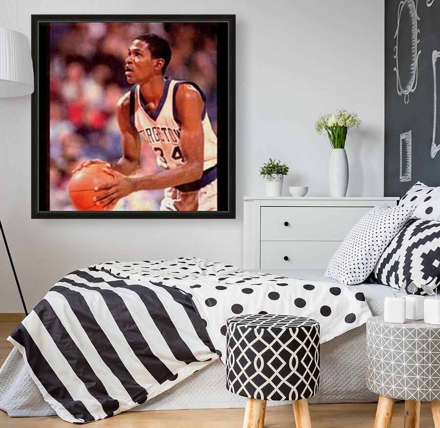 1986 georgetown hoyas basketball reggie williams poster  Art