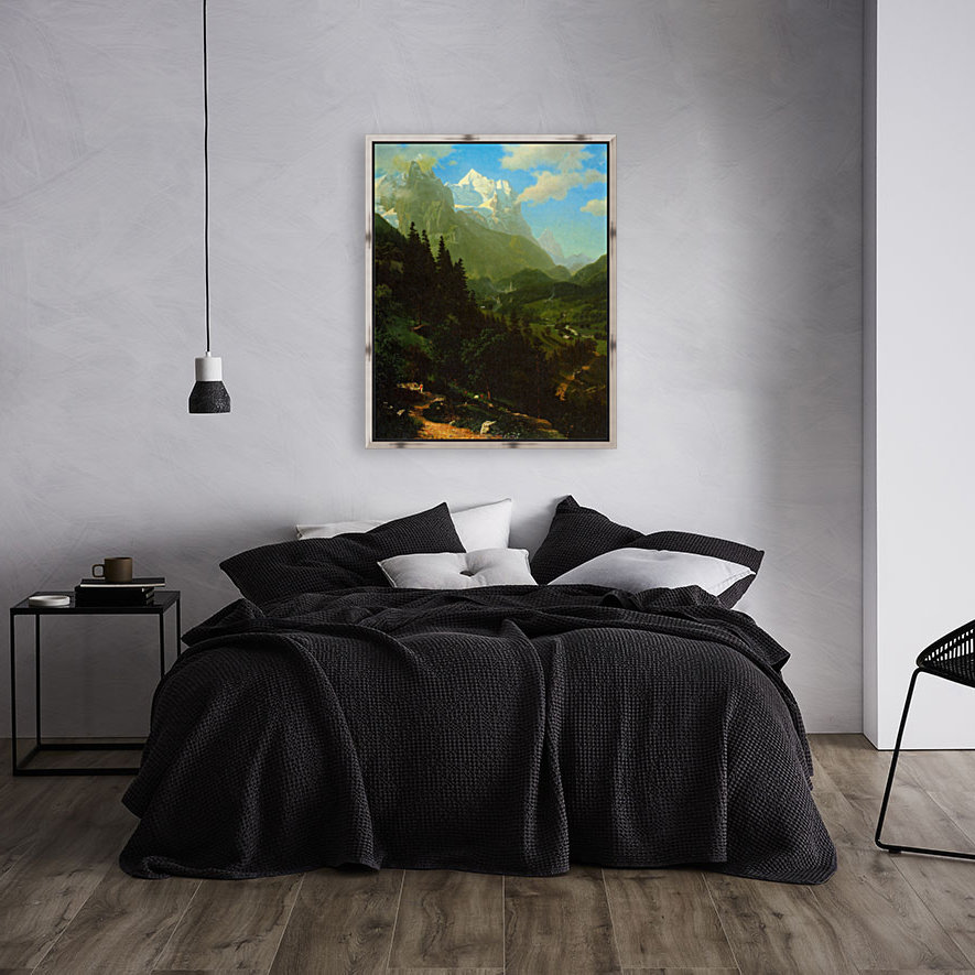 Matterhorn by Bierstadt  Art