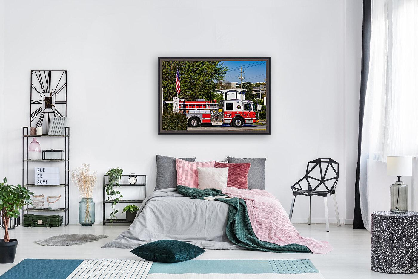 City of Atlanta Fire Engine No 29 6648  Art