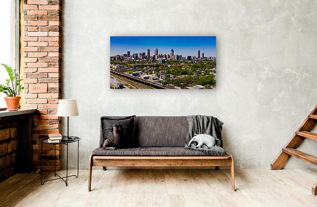 Atlanta GA  Panoramic Skyline 0618  Art