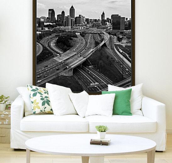 Interstate 75 85 Aerial View   Atlanta GA 0225_1596639055.5636  Art