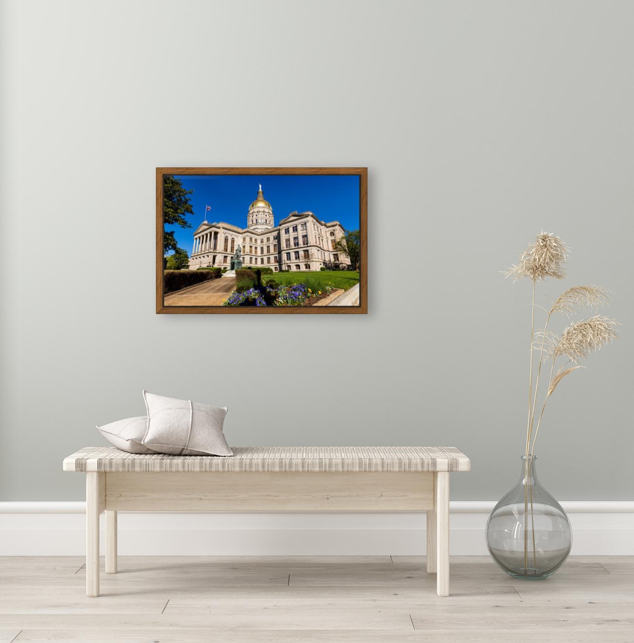Georgia State Capitol Building   Atlanta GA 7215  Art