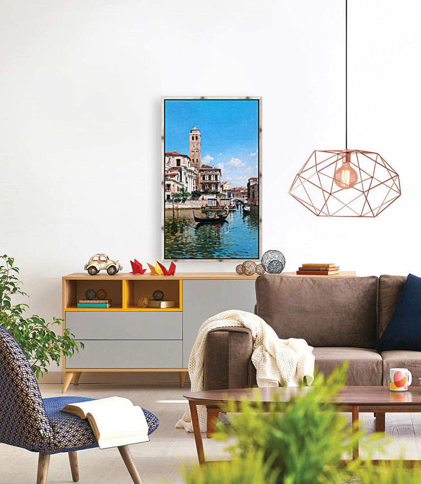 The Palazzo Labia, Venice with Floating Frame