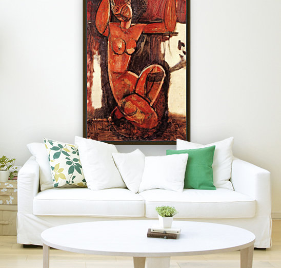 Modigliani - Caryatid -5-  Art