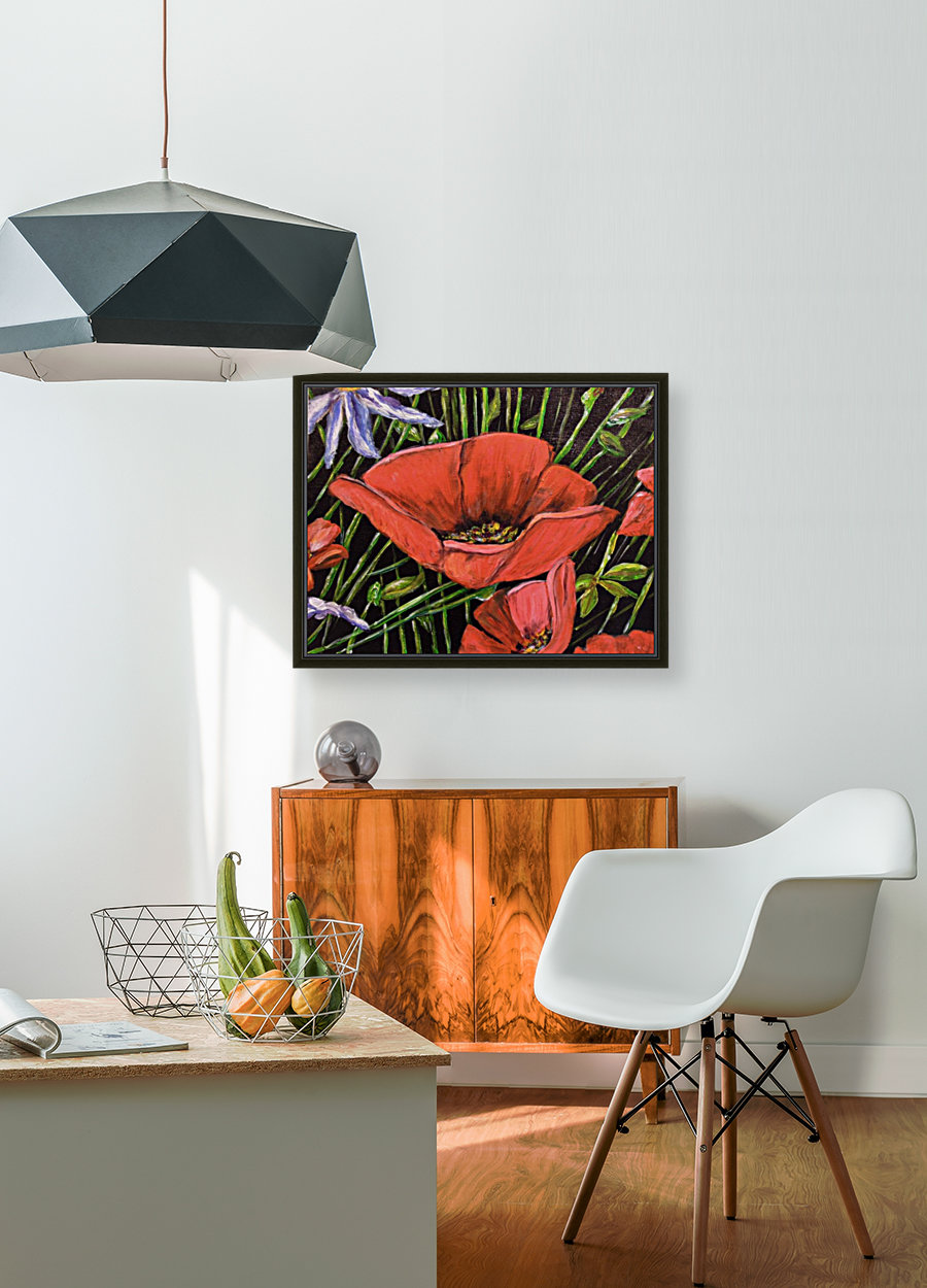 Folding Poppy  Art