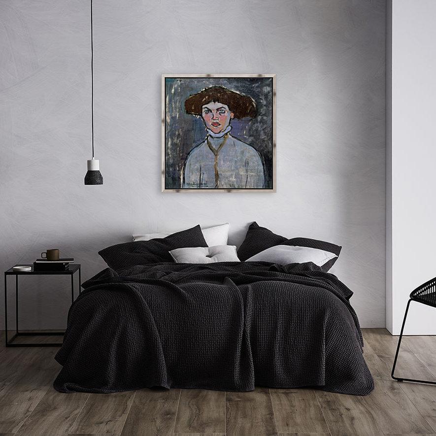 Modigliani - Head of a young woman  Art