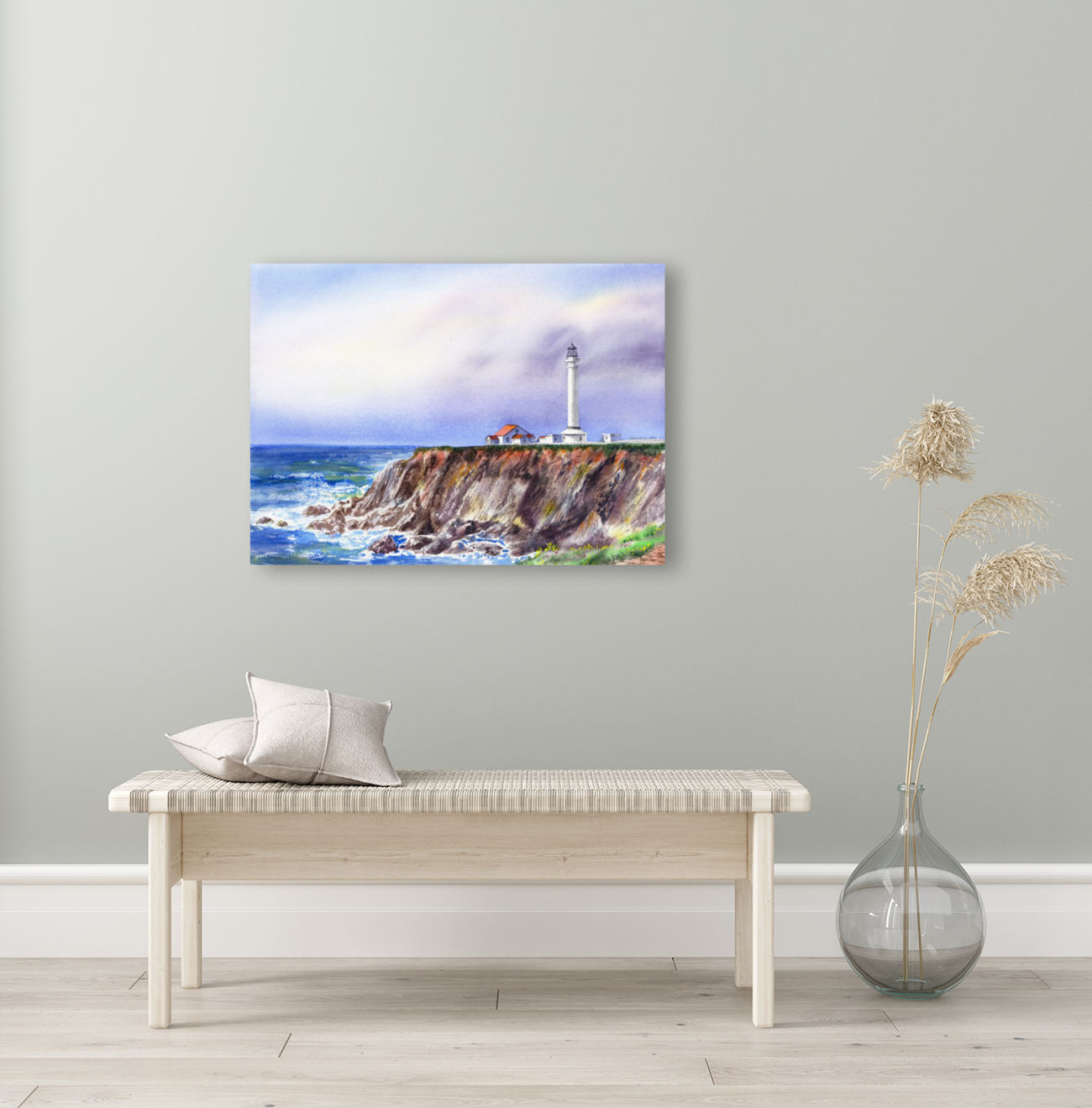 Lighthouse Point Arena California   Art