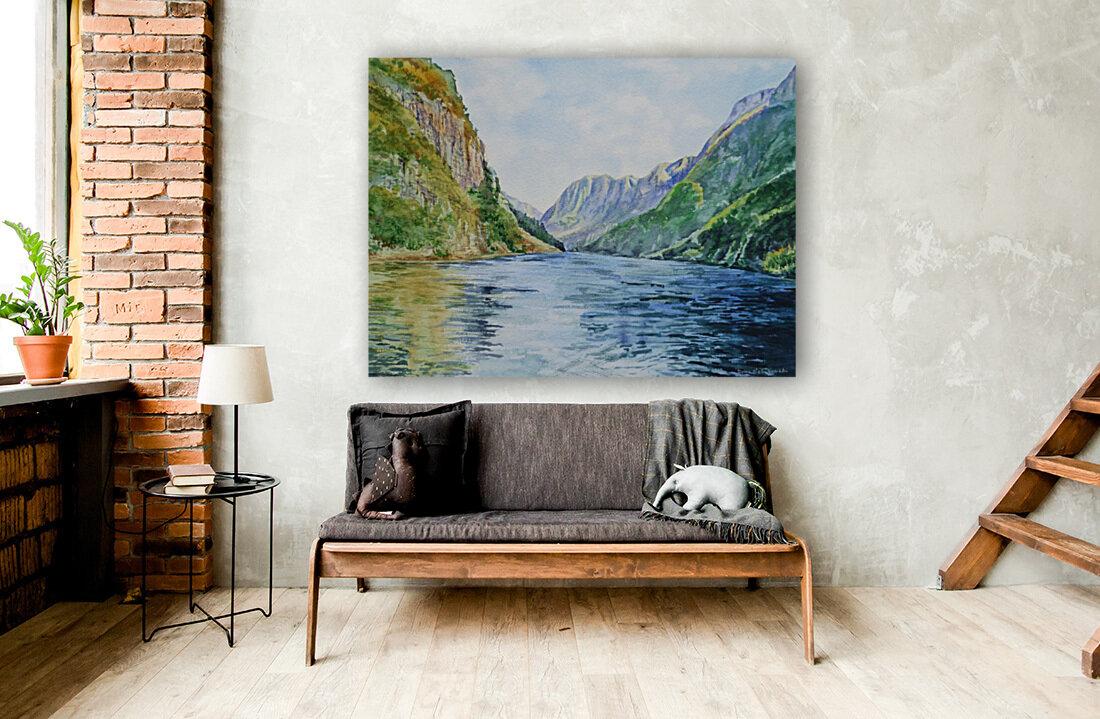 Norway Fjord  Art
