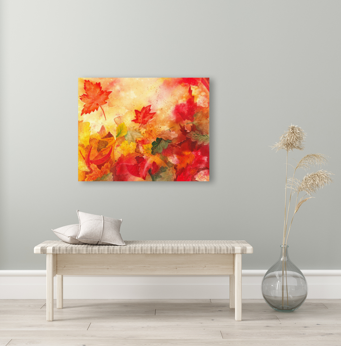 Autumn leaves Serenade   Art