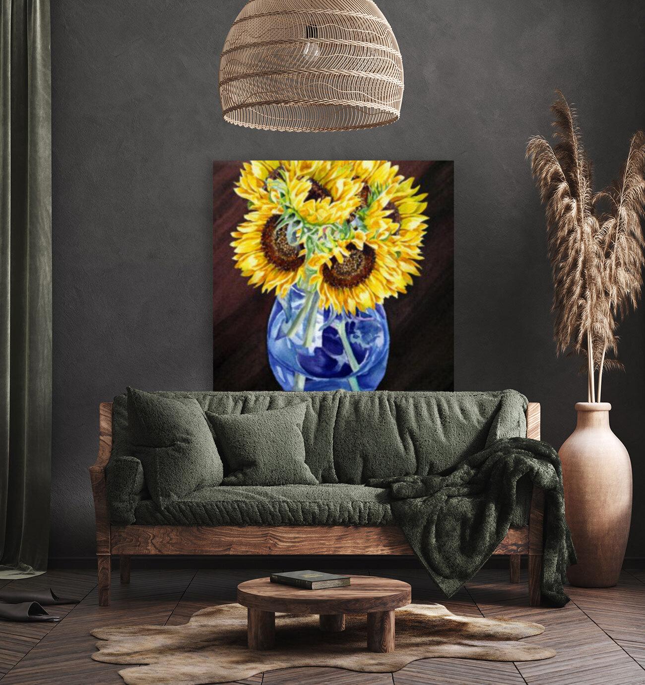 A Bunch Of Sunflowers  Art