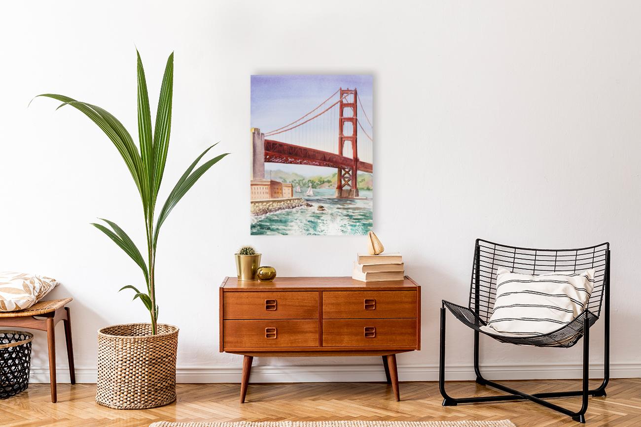 Golden Gate Bridge San Francisco  Art