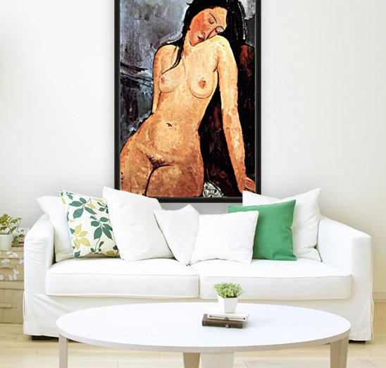 Modigliani - Nude female  Art