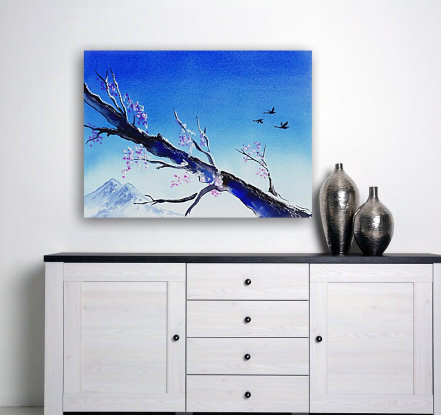 Spring In The Mountains  Art