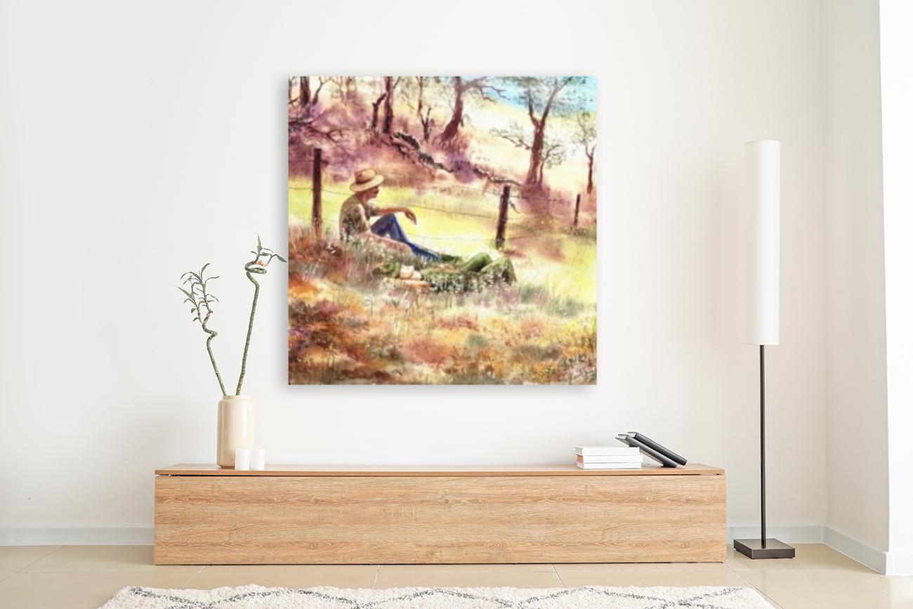 Farmers And Hunters Heaven  Art