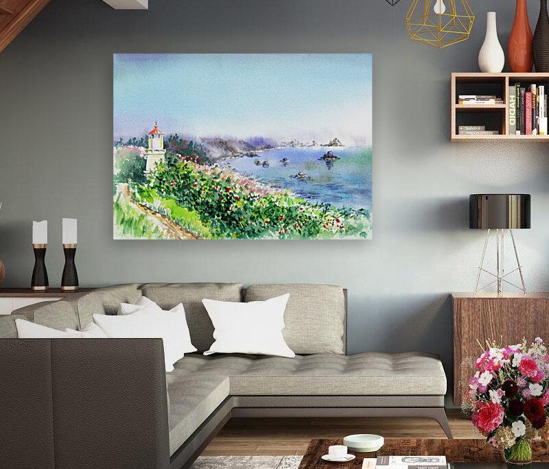 Lighthouse Trinidad California  Art