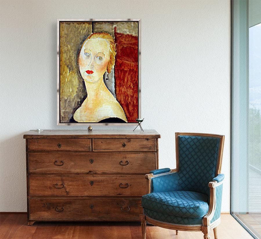 Modigliani - Portrait de Germaine Survage  Art