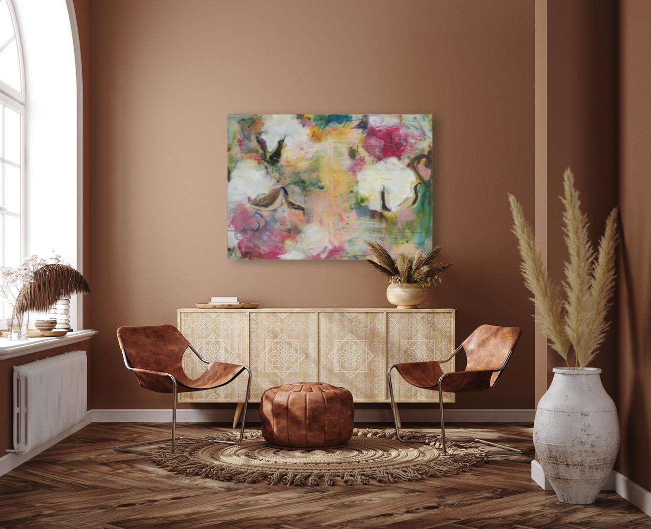 August Indian Cotton ii  Art