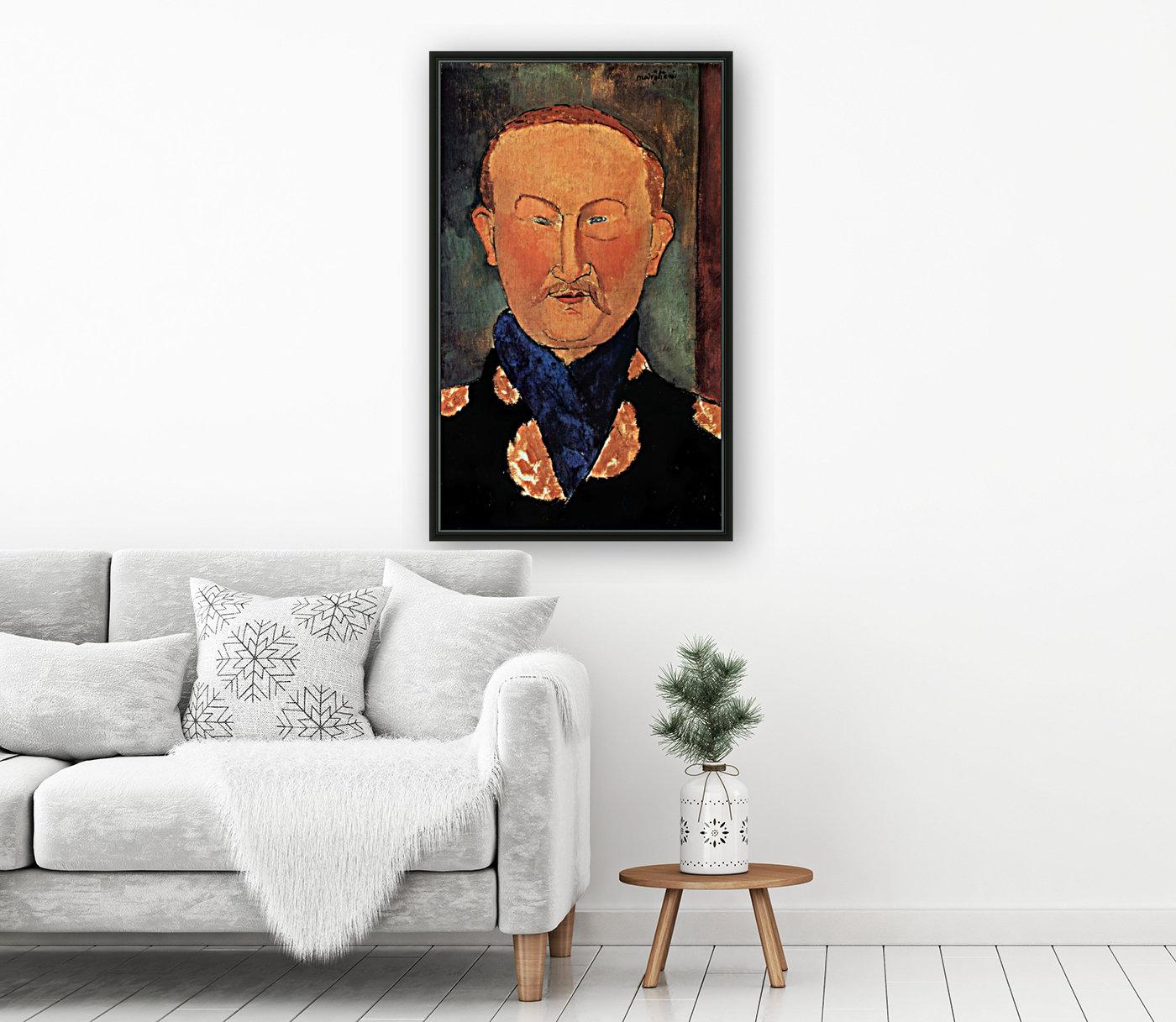 Modigliani - Portrait of Leon Bakst  Art
